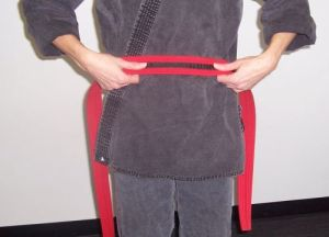 How to tie your karate belt step one